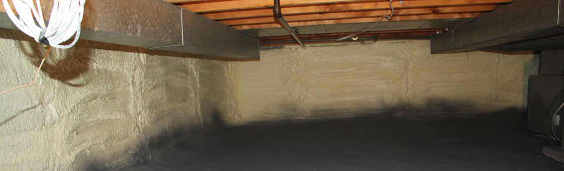 crawl space insulation in Alaska